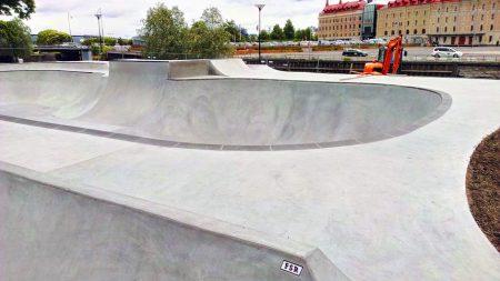 Skateparken stängd söndag 9 oktober
