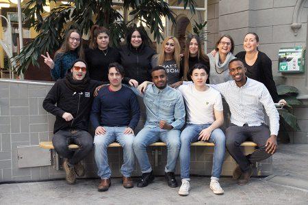 20 ungdomar från Sundsvall och Lissabon lär sig ledarskap med Erasmus+