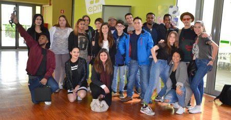 22 unga från Portugal och Sverige lär sig om ungt ledarskap