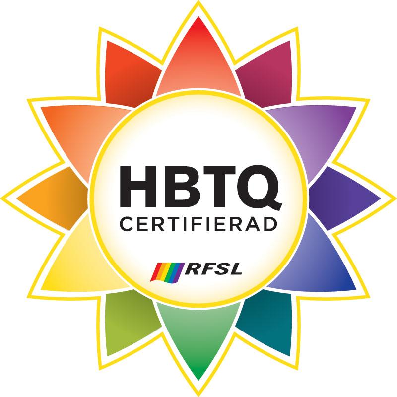 Bild på HBTQ certifikatet