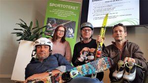Hela ligan på Sportoteket i Sundsvall