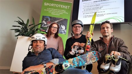 Sportoteket blir nu en permanent verksamhet under namnet Fritidsbanken