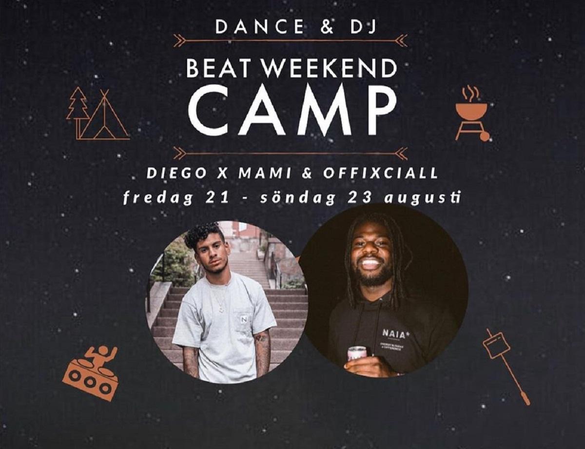 Dekorativ bild av Beat Camp