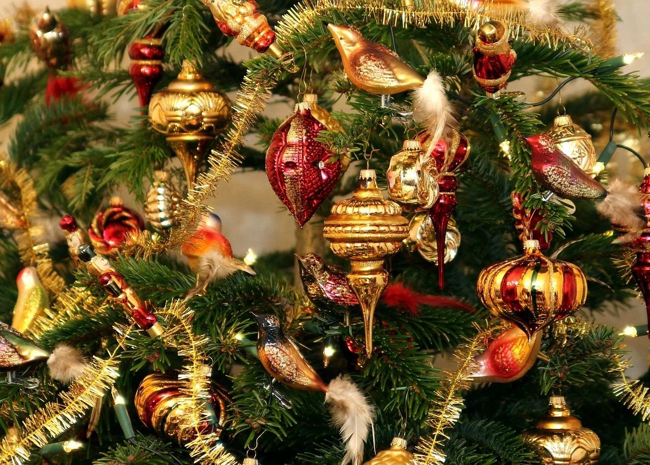 Dekorativ bild av Jullovet