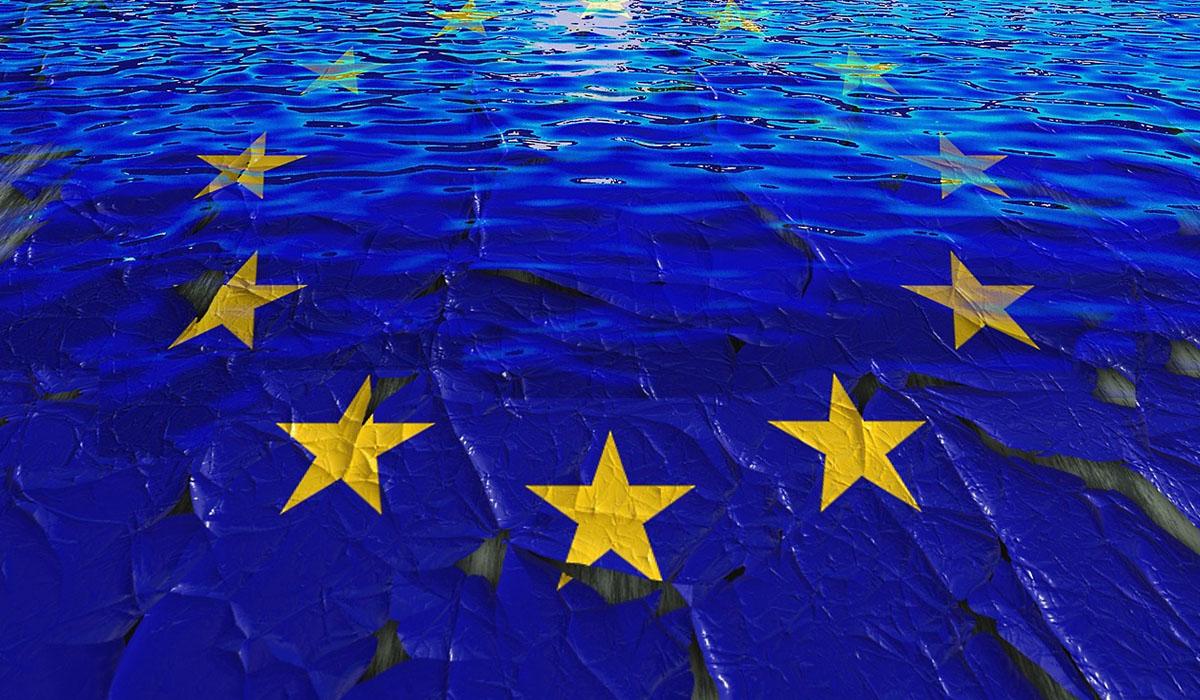 Dekorativ bild av sidan Ung i Europa